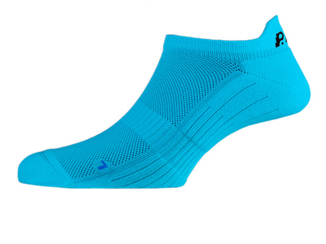 P.A.C. SP 1.0 Footie Active Korte Swimrun Sokken Heren, neon blue